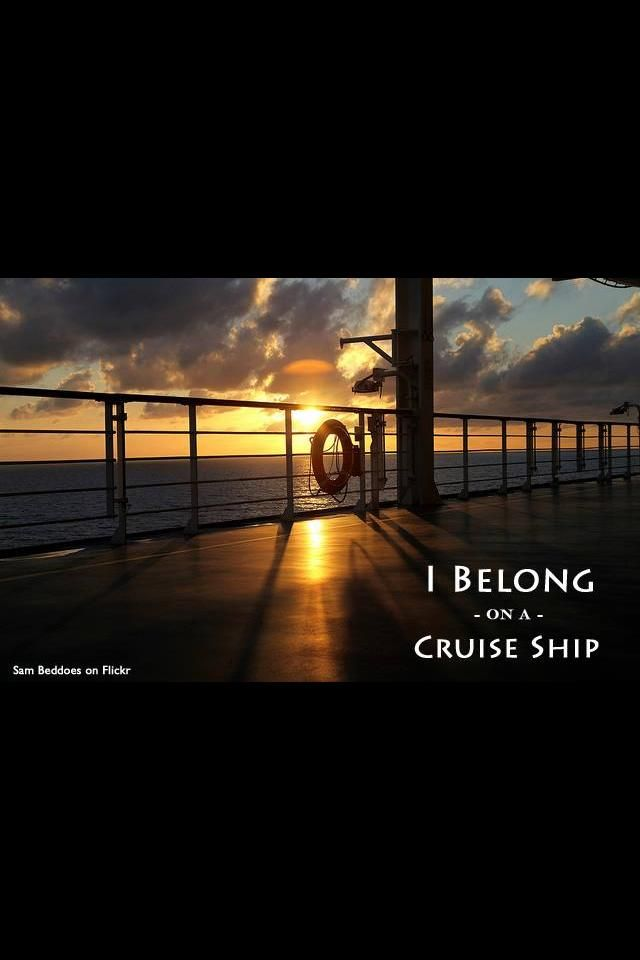 I belong on a cruise ship! Choose from a variety of theme-cruises on www.flyingdutchmentravel.com.