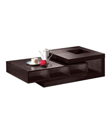 Take a look at this Black Modern Coffee Table by Armen Living on #zulily today!   DIY ideal