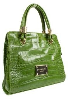 ShopStyle: Debenhams Green Smith And Canova Leather Tote Bag