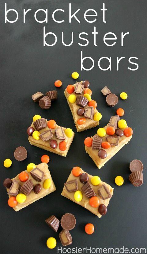 Bracket Buster Bars Recipe :: HoosierHomemade.com