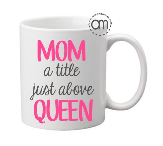 Mother's Day Gift, Gifts For Mom, Mom is Queen