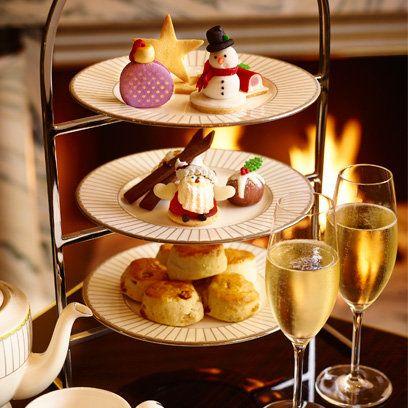 Festive afternoon tea at The Corinthia Hotel