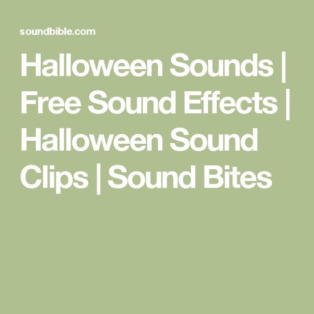 halloween sounds free sound effects halloween sound clips sound bites - Free Halloween Sounds Mp3