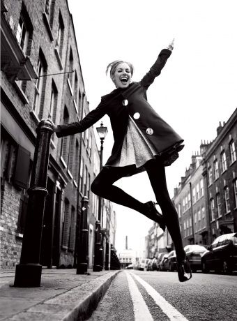 Happy Leap Year! Here Are 29 Pictures of Models Leaping. {this photo, Mario Testino for Vogue}
