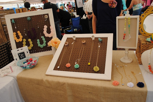 great craft booth disply via Lillypie Accessories