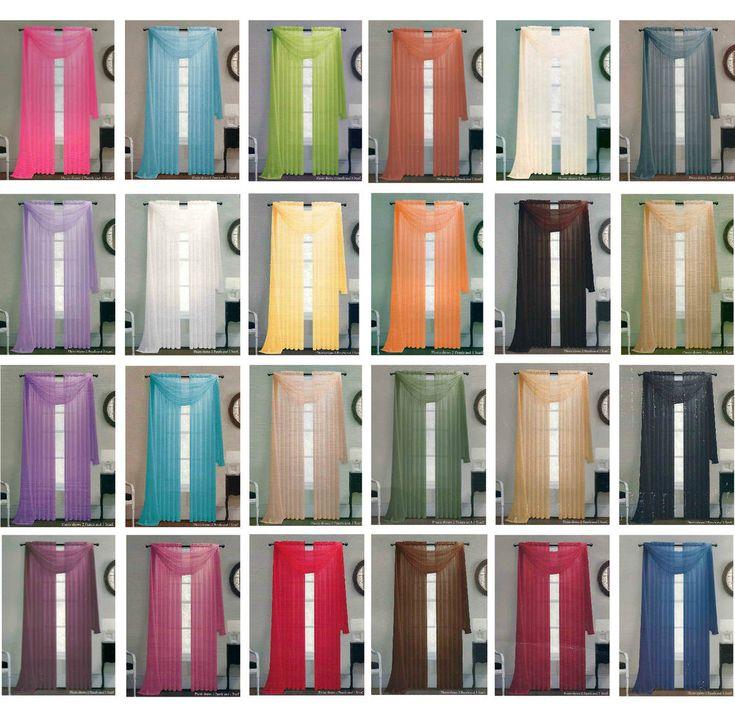 Come Hang un Sciarpa Valance Design Con idee interessanti e creative: più colore per Come appendere una sciarpa Valance idee di design per la decorazione domestica interni
