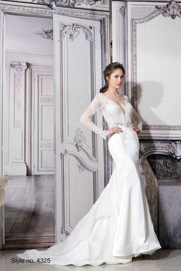 Pnina tornai style 4325 pninatornai pnina tornai for Kleinfeld wedding dresses with sleeves