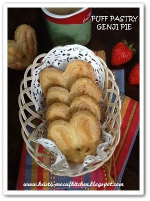 KRISTA MOCAF KITCHEN: Genji Pie Puff Pastry - Not Gluten Free
