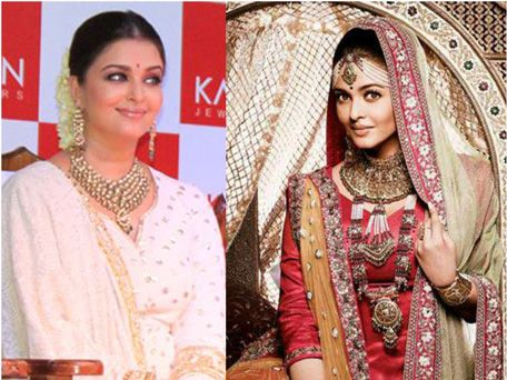 Aishwarya Rai fake photos for Jewellery promotion