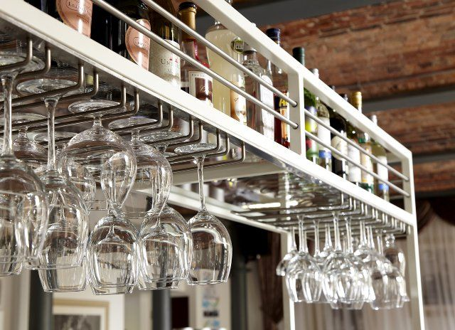 andy thornton lighting. bespoke overhead glasses rails u0026 bottle racks andy thornton lighting