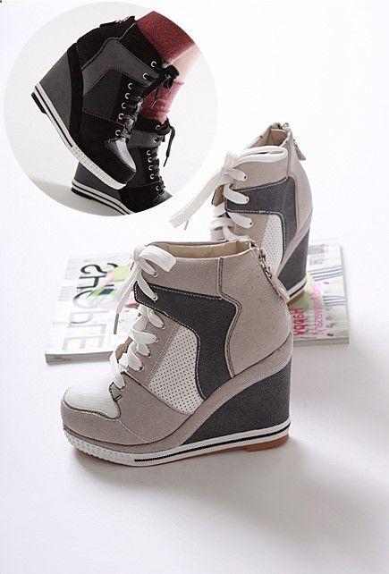Ladies Ltalian Hidden Wedge Shoes