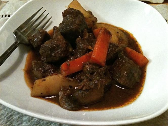 Old Jamaica Ginger Beer beef stew
