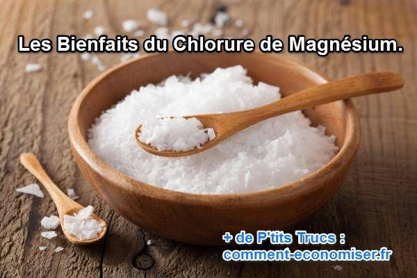 Le chlorure de magnesium pour lutter contre le stresse, anxiété, constipation, acné