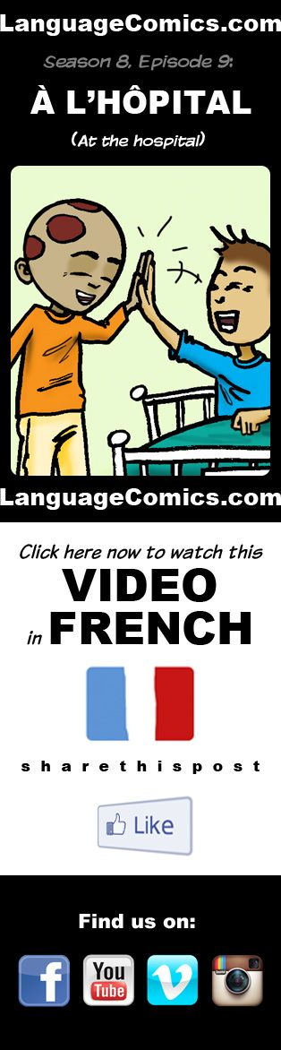 #French practice and pronunciation. Enjoy and share! https://youtu.be/aGk30kn-FX0