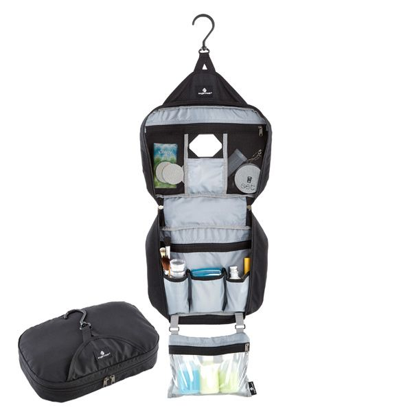 Pack everything you'll need to freshen up while traveling with the Eagle Creek…