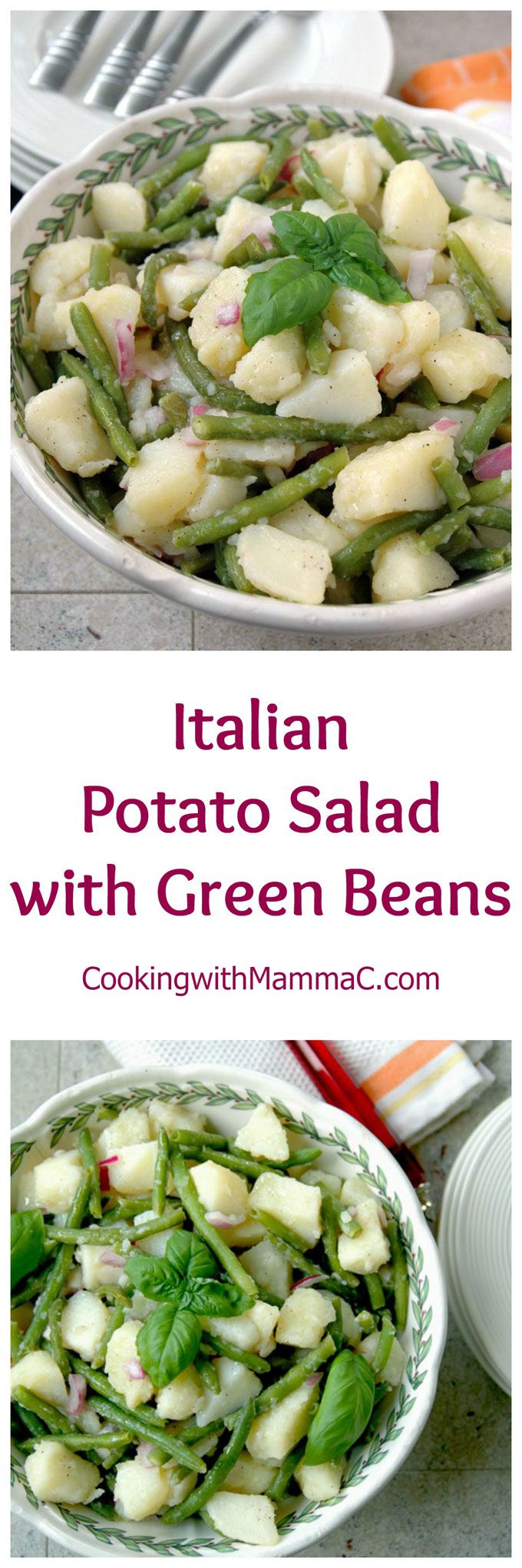 The best potato salad from Naples! Vegan, gluten free and perfect for your next BBQ or potluck!