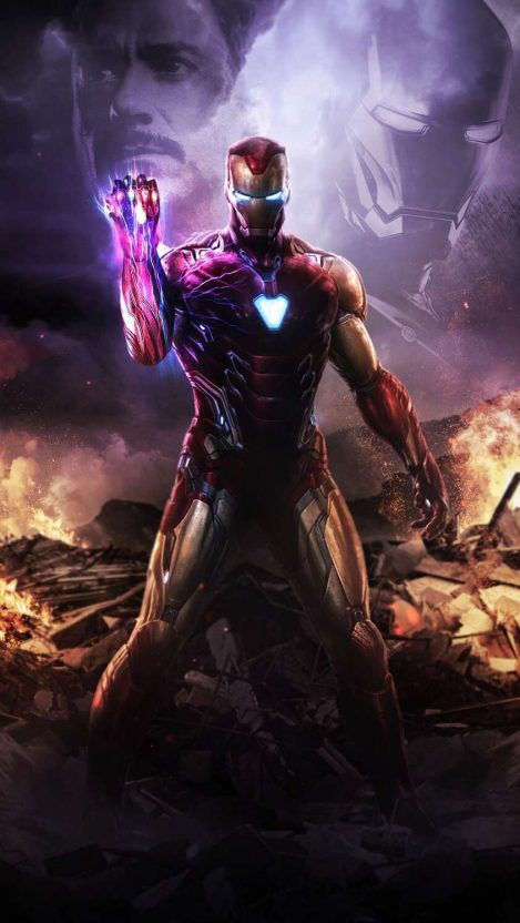 I am iron man infinity stone snap iphone wallpaper - Iron man wallpaper anime ...