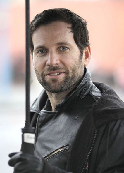 Eion Bailey | Exclusive... Actor Eion Bailey trying to stay dry while filming scenes ...