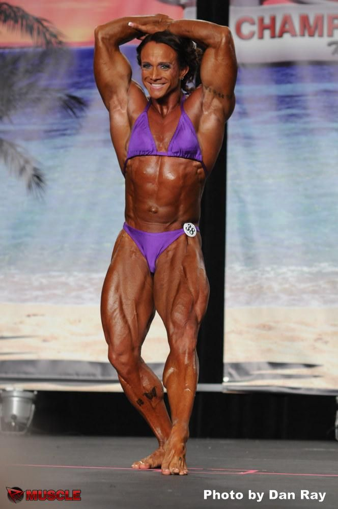 Janeen Lankowski - IFBB Wings of Strength Tampa Pro 2012