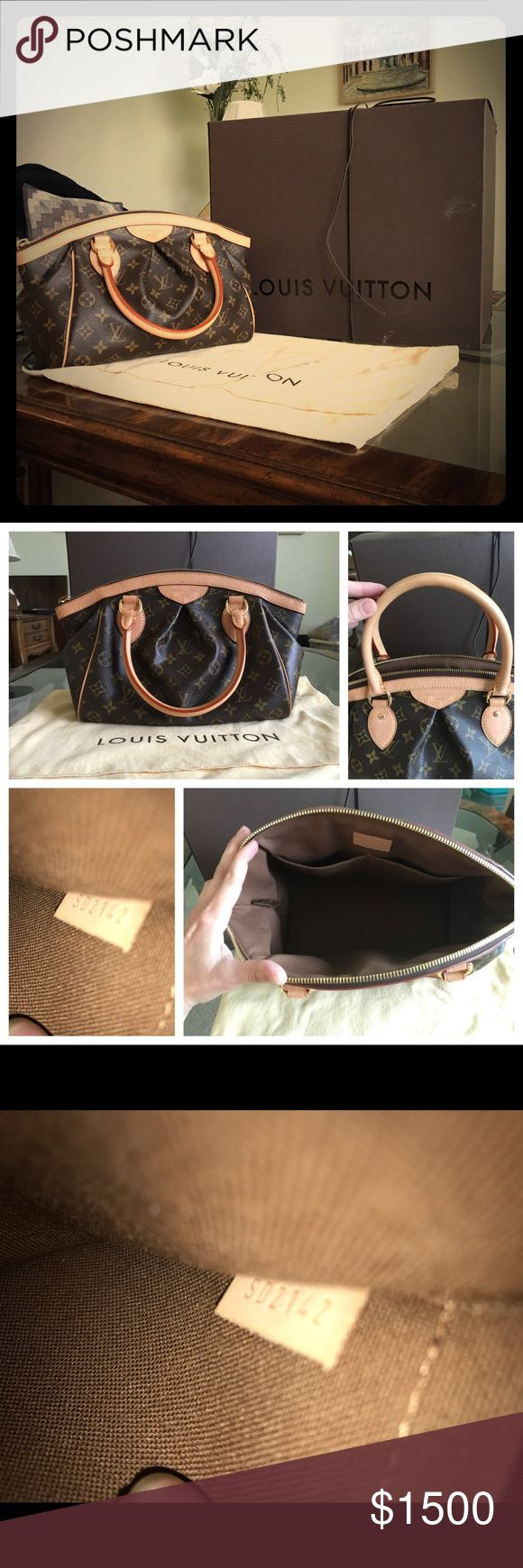 Louis Vuitton Tivoli PM 2012 Beautiful, like new condition. Made in USA. Packed in a box, with the dust bag. Carried a few times, for events only. Firm on price Louis Vuitton Bags Satchels
