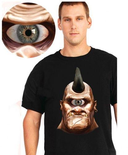 "Интерактивная футболка ""Циклоп"" (Англия) — http://fas.st/fz5z6T"