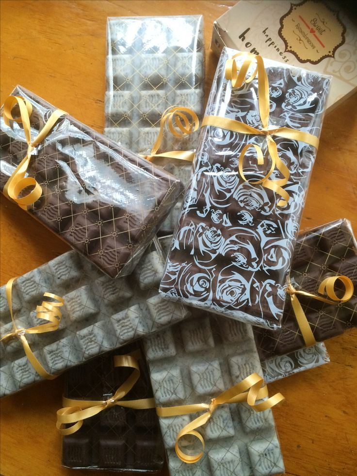 Assortment gift wrapped Bars #sweetremembrances