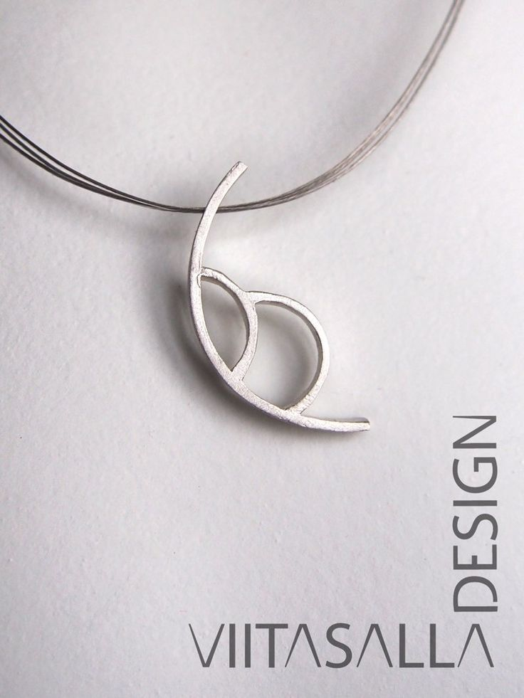 The new 'Sidetracks' silver series by Viitasalla Design is now available at: http://bit.ly/sidetrcks #jewelry #jewellery #silver #nordicdesign #pendant #necklace