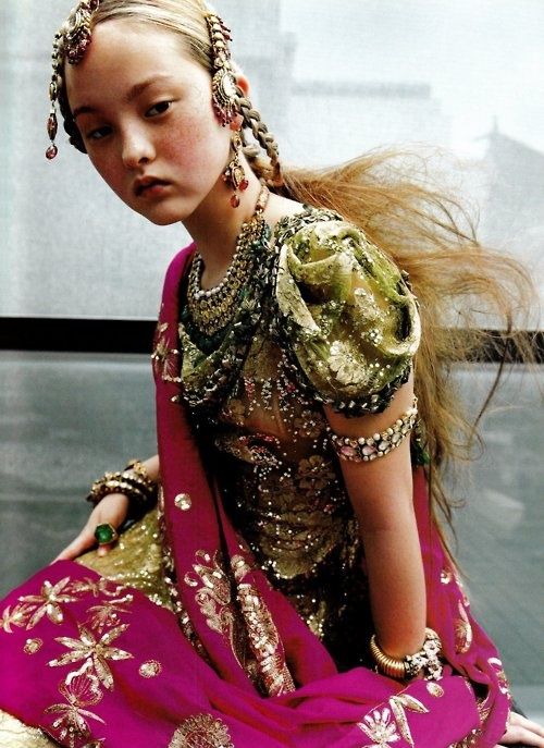 Devon Aoki in Vogue Paris September 1999 by Ruven Afanador