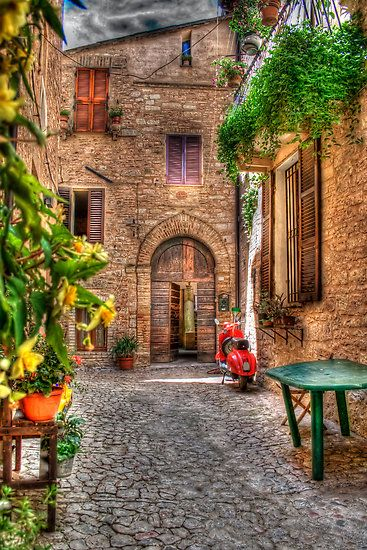 Spello by oreundici, Italy