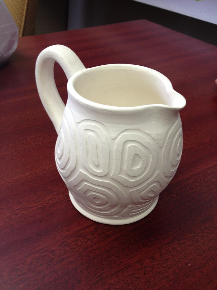 Best images about my textured pottery texturing slip