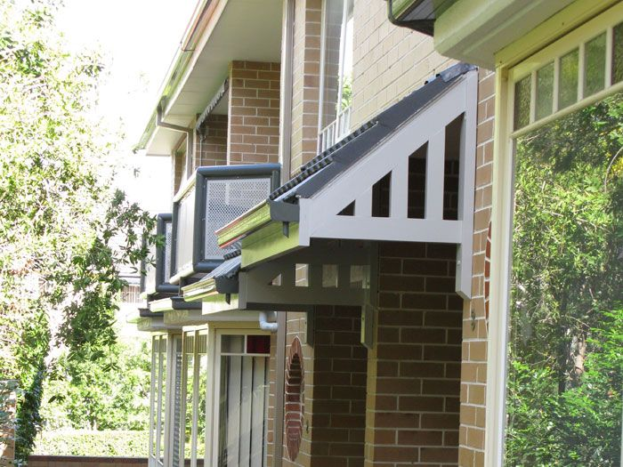Exterior Window Awning For Mobile Home: Building Ideas