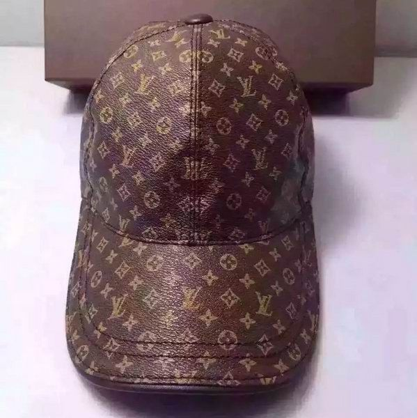 Louis Vuitton Leather Baseball Cap