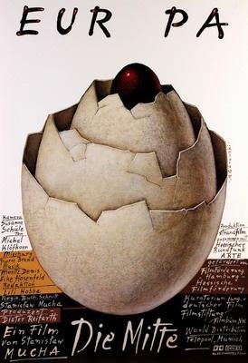 By Gorowski Mieczyslaw, 'Europa - The Middle'dir. Mucha Stanislaw, 2 0 0 4, film poster. director: Mucha Stanislaw year: 2004