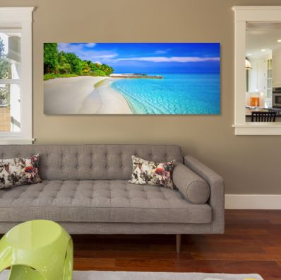 Bring a little island tranquility into your home and let us print your gorgeous photos onto canvas - order online today! http://canvasprintco.co.za/order-now/
