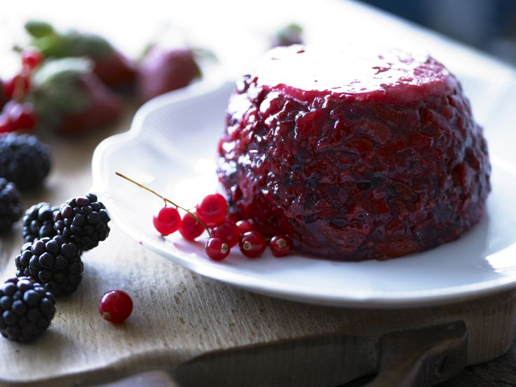 Our classic Cartmel Summer Fruit Pudding, packed with delicious berries and a hint of Belvoir Elderflower Cordial - back in to production soon for the 2014 season