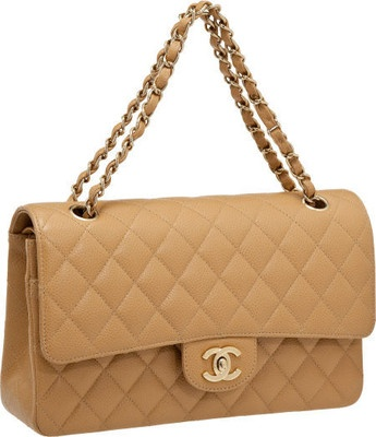 LOVE this bag, so variable...: Chanel Handbags, Gold Hardware, Double Flap, Beige Caviar, Caviar Leather, Classic Beige, Flap Bags, Chanel Classic, Leather Double