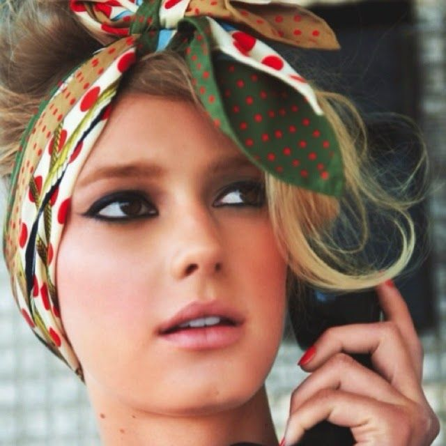 Fashion' n 'Pasion : Летняя тенденция: платок на голову