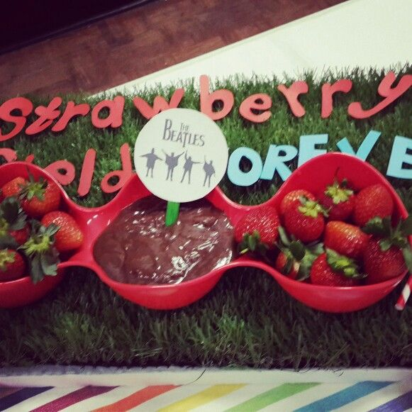 Strawberry fields created by my cousin