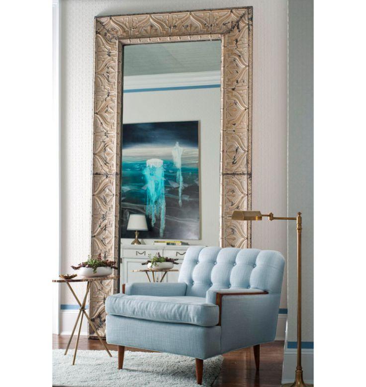 Meer dan 1000 idee n over grote spiegels op pinterest - Zorgen voor een grote spiegel aan de wand ...