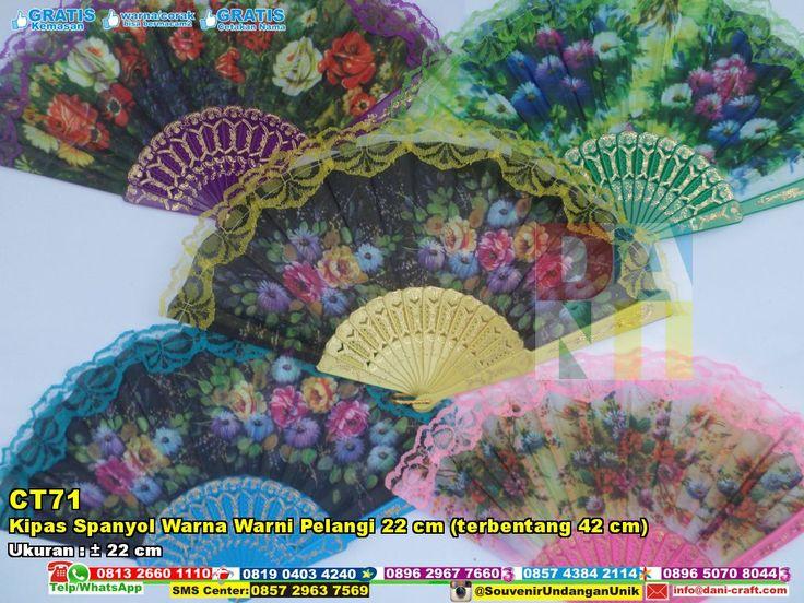 Kipas Spanyol Warna Warni Pelangi 22 Cm (terbentang 42 Cm) Telp/SMS/WA: 0896.296.77.660 (Tri) 0819.0403.4240 (XL) 0813.2660.1110 (Telkomsel) 0857 4384 2114 (Indosat) PIN BBM: 59E 8C2 B6. WA/ SMS Center: 0857.2963.7569  #KipasSpanyol #JualSpanyol #souvenirMurah