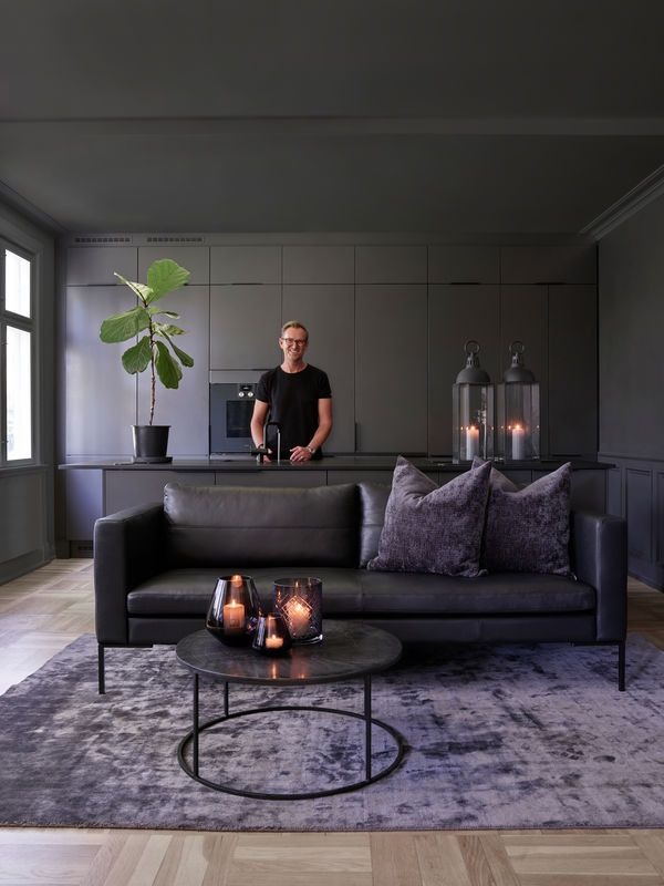 Signature Collection 3 Seter Stuedesign Svart Sofa Stue Mobeldesign