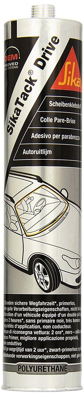 Part 401647 Sikatack Drive Adhesivo para parabrisas, 300 ml, color negro: Amazon.es: Coche y moto