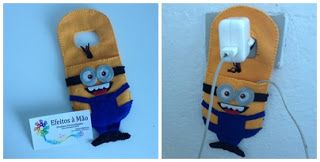 Porta celular - Minions