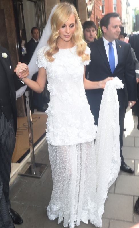 La gran boda marroquí de Poppy Delevingne - La pareja, que ya se había cas...