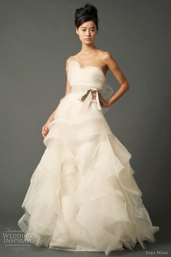 Perfect Vera Wang wedding dress