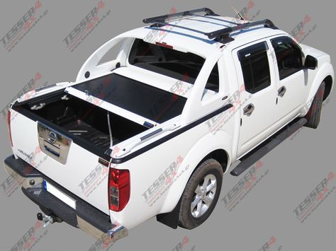 Nissan D40 double cab: #Nissan #D40 #Frontier #double cab #4x4 #accessories #offroad #cars #pickup #truck  #roller #lid #best #fashion #off-road #spare parts #cover