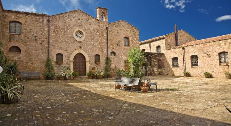 Relais Santa Anastasia Castelbuono Offering a garden with pool, Relais Santa Anastasia is set in a former abbey in the hills surrounding Castelbuono. It features elegant rooms and a restaurant.  Spacious, air-conditioned rooms at the Santa Anastasia include satellite TV.