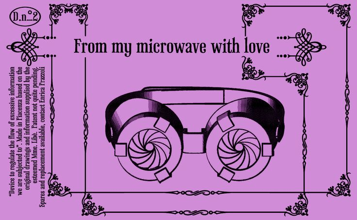 Objects, Continued From My Microwave With Love