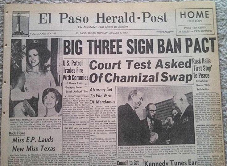 nuclear test ban treaty 1963 apush