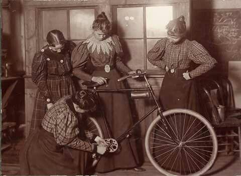 Señoras y bicis